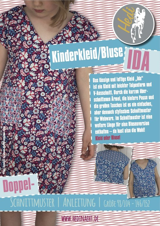 eBook Bluse/Kleid Ida - Hedi