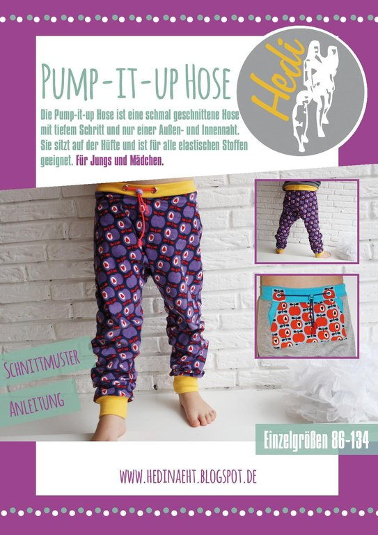 eBook Pump-it-up Hose Kids (Gr.86-134)