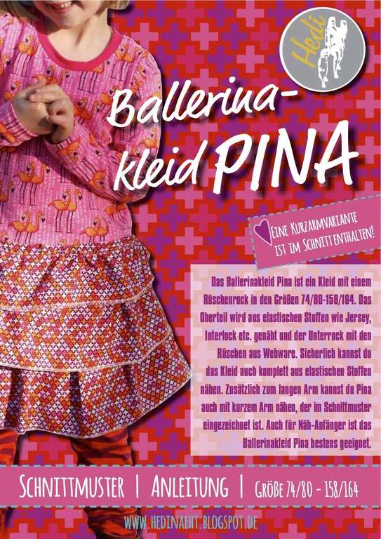 eBook Ballerinakleid Pina