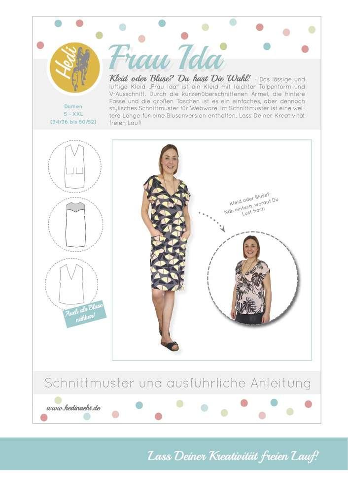 eBook Bluse/Kleid Frau Ida - Hedi