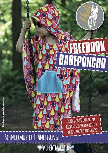 FREEBOOK Badeponcho