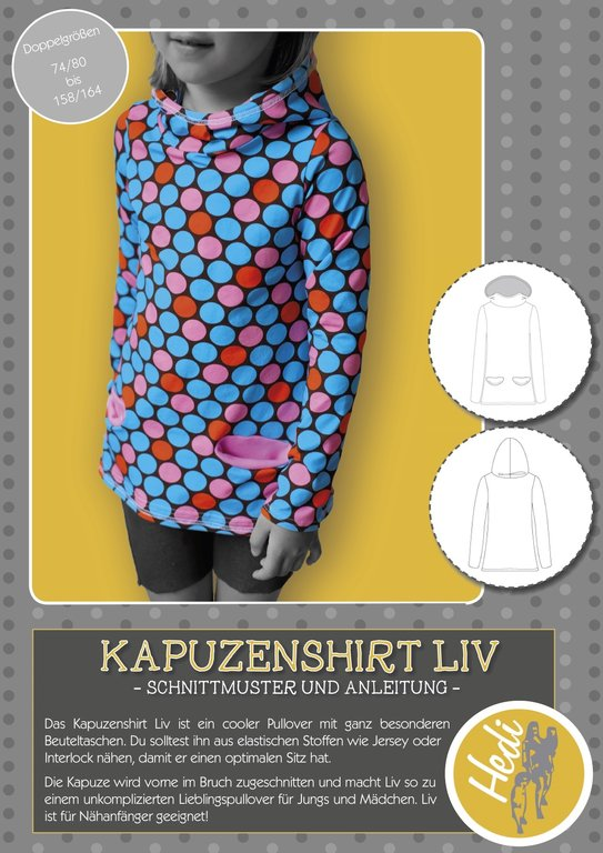 eBook Kapuzenshirt Liv