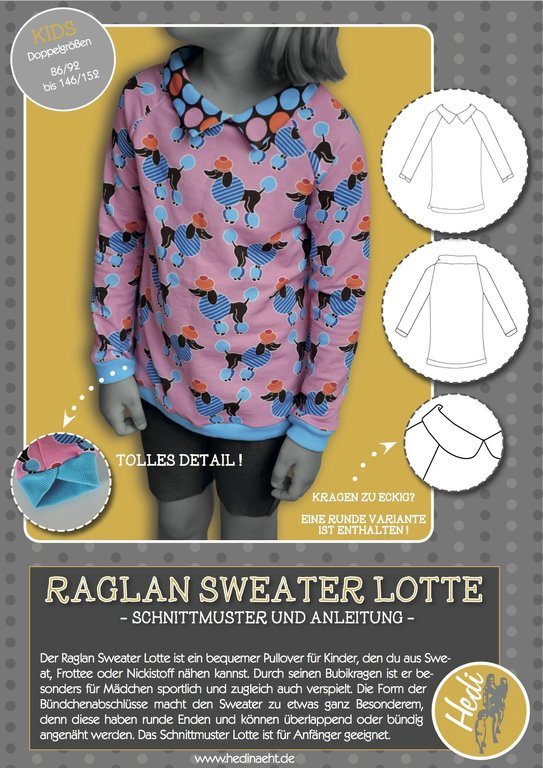 eBook Raglansweater Lotte